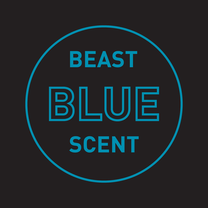 Beast Blue Scented Cooling Body Wash