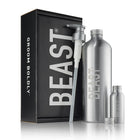 Beast Bottle Set with Liter Bottle Cap Pump Top Travel Size and More
