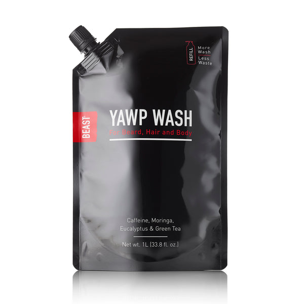 Yawp Wash Refill Pouch 1 Liter for Beast Bottle