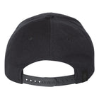 Black Beast Hat Back - Beast Logo Tag
