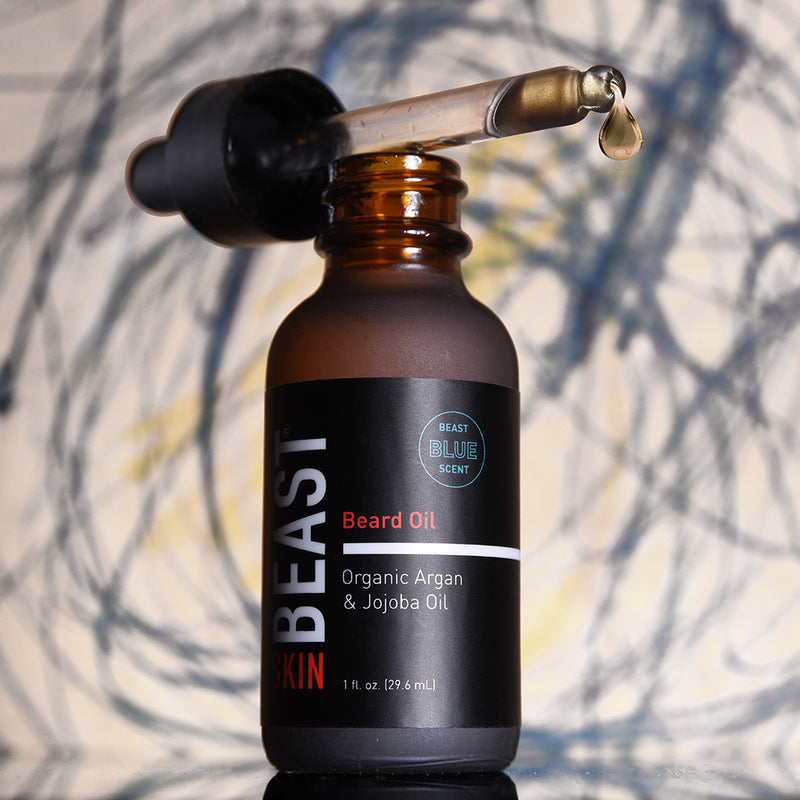 Beast Blue Beard Oil to Tame the Beast