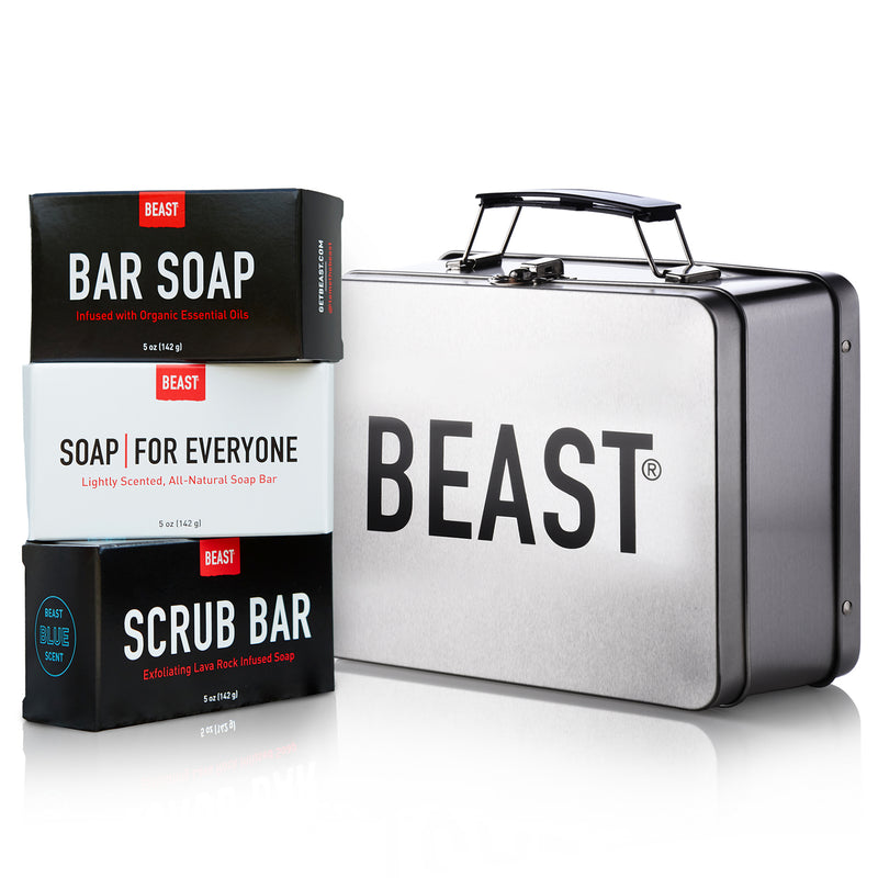 Lunch Box Dopp Kit Soap Set