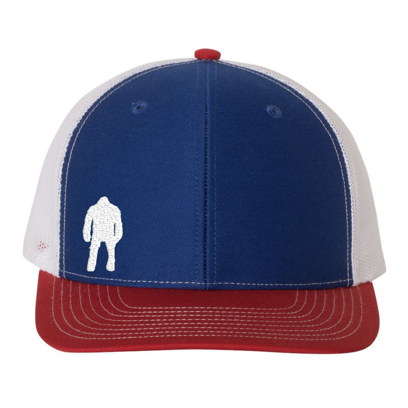 Red White Blue American Flag USA Beast Hat