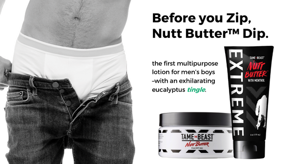Before you zip Nutt Butter Dip original and extreme