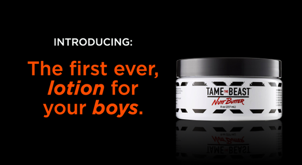 Introducing Nutt Butter the first ever, lotion for your boys