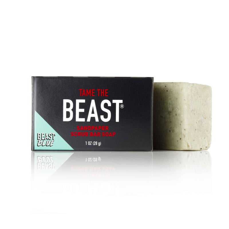 Sandpaper Scrub Natural Bar Soap by Tame the Beast 1oz