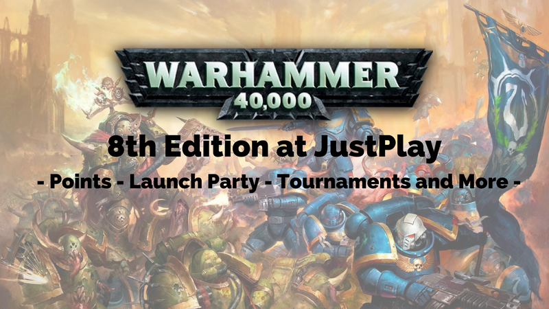Warhammer 40k 8th Edition at Justplay