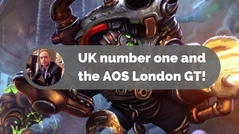 UK number one and the AOS London GT!