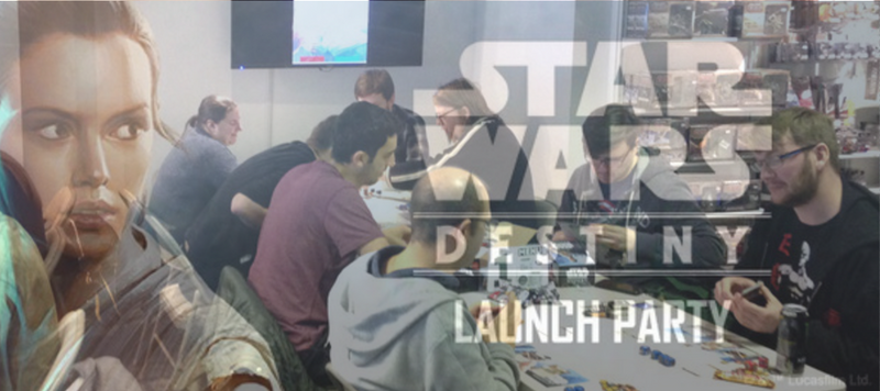 Star Wars Destiny Launch Party Recap