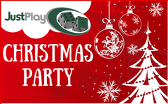 JustPlay Christmas Party (17th/18th December)
