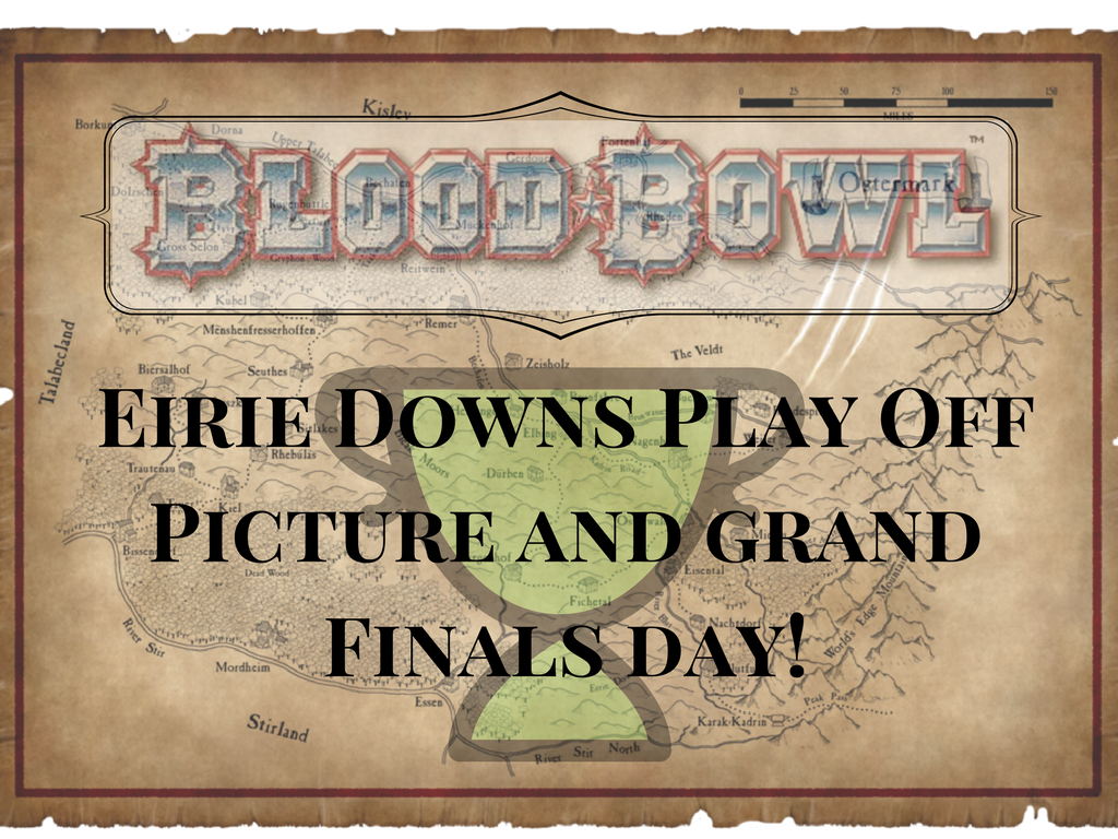 Eirie Downs Play Off Picture and Grand Finals Day!