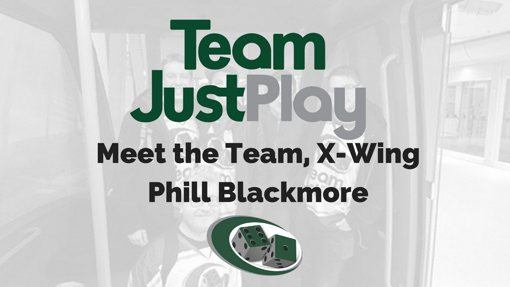Meet the Team, X-Wing Phill Blackmore