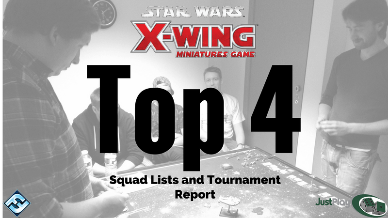 X-Wing Q1 Tournament Report and Squad Lists