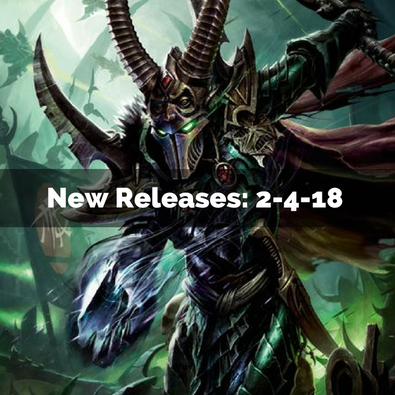 New Releases 2/4/18