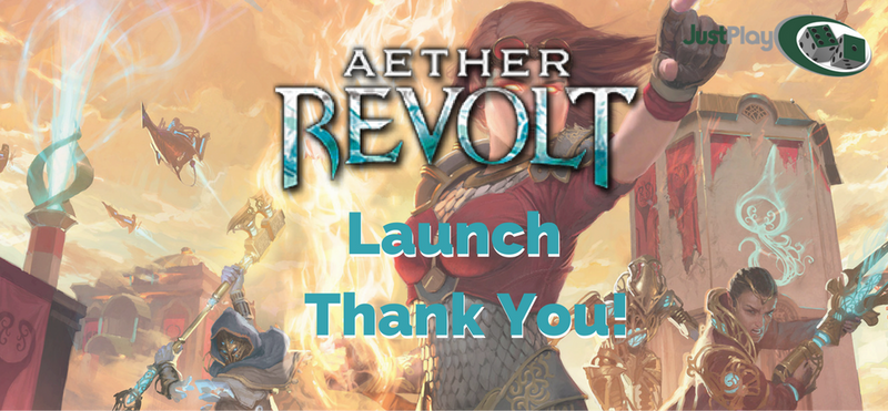Aether Revolt Launch - Thank You Players!