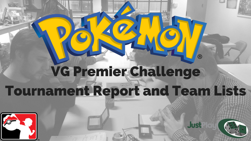 Pokemon VG Premier Challenge Tournament Report