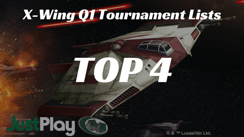Q1 Tournament Report: TOP 4 X-WING LISTS