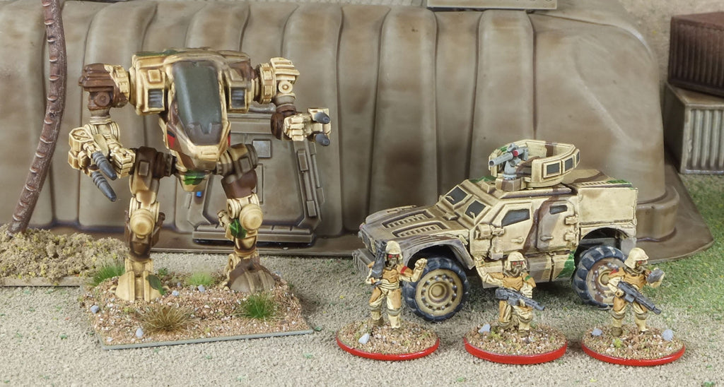 Thoughts on 15mm Sci-Fi Wargaming