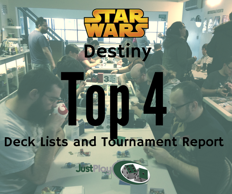 Star Wars Destiny Tournament Meta and Top 4 Lists