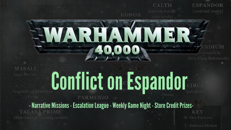 Warhammer 40,000 Escalation League and the Summer of Destruction