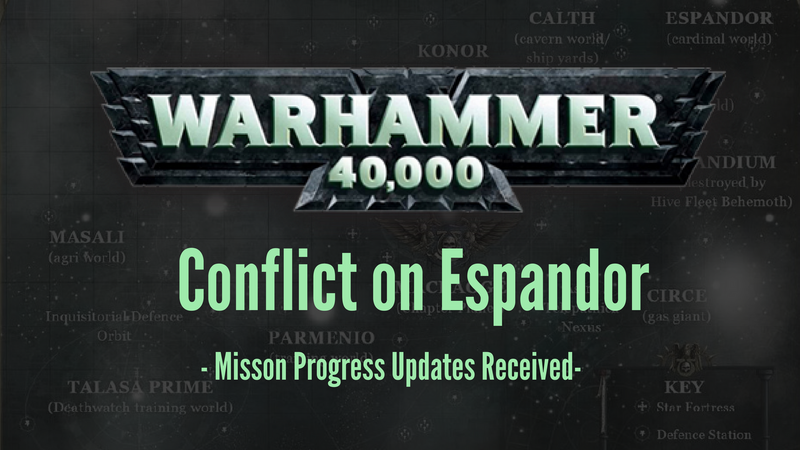 The Conflict on Espandor Rages On