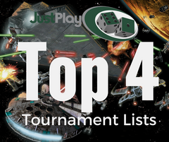 X-Wing November Tournament Top 4 Lists