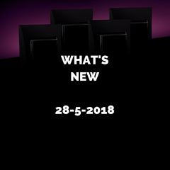 What's New? 28-5-18