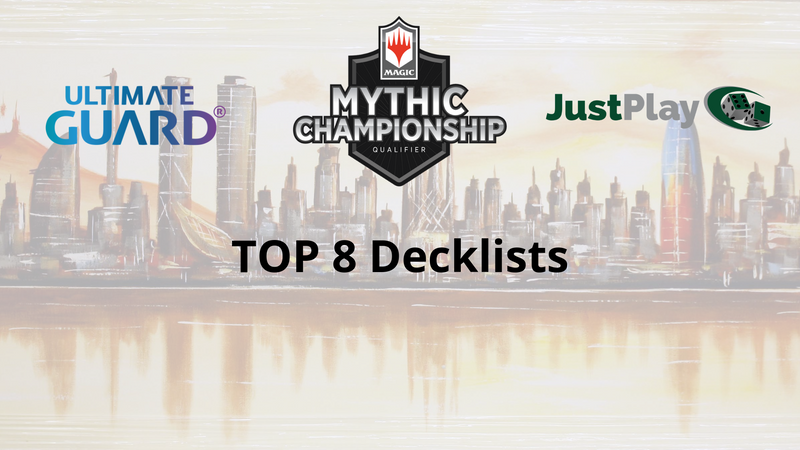 Mythic Championship Qualifier Top 8 Decklists