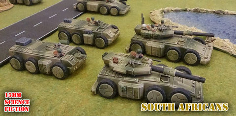 Thoughts on 15mm Sci-Fi Wargaming | JustPlayGames