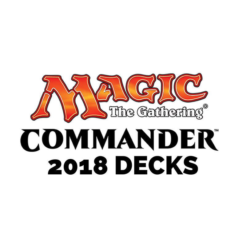 MTG Commander 2018 Decks