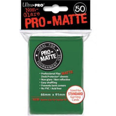 Ultra Pro Standard Sleeves Green (50)