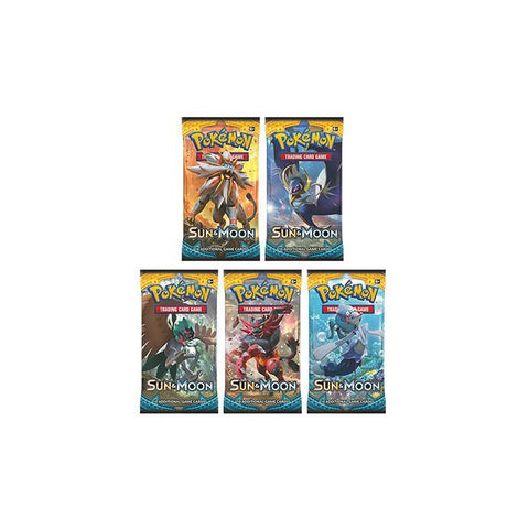 Pokemon TCG: Sun & Moon Booster