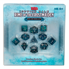 Icewind Dale: Rime of the Ice Maiden; Dice & Miscellany