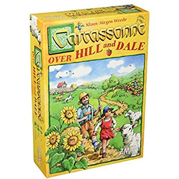 Carcassone: Over Hill and Dale