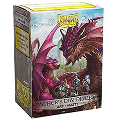 Dragon Shield Art Matte: Father's Day Dragon (100 Limited Edition Sleeves)