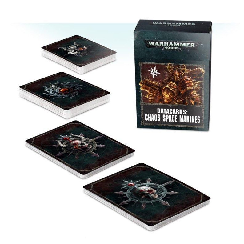 Datacards: Chaos Space Marines (2019 update)