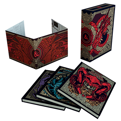 Dungeons & Dragons Core Rulebook Gift Set Collector's Edtion