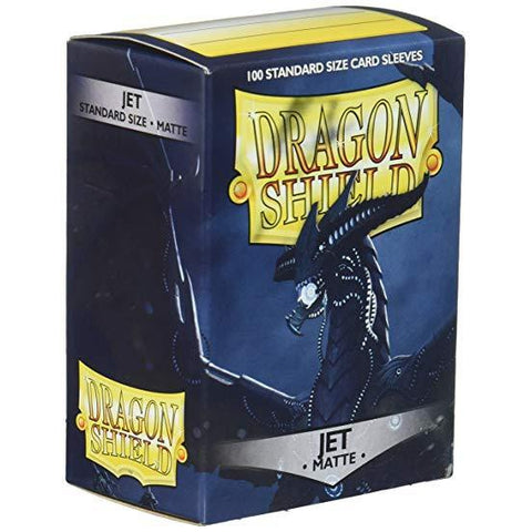 Dragon Shield Sleeves Matte Jet (100)