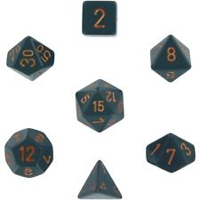 Opaque Poly Dice Set