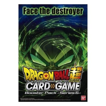 Dragon Ball Super: Booster Box Face The Destroyer