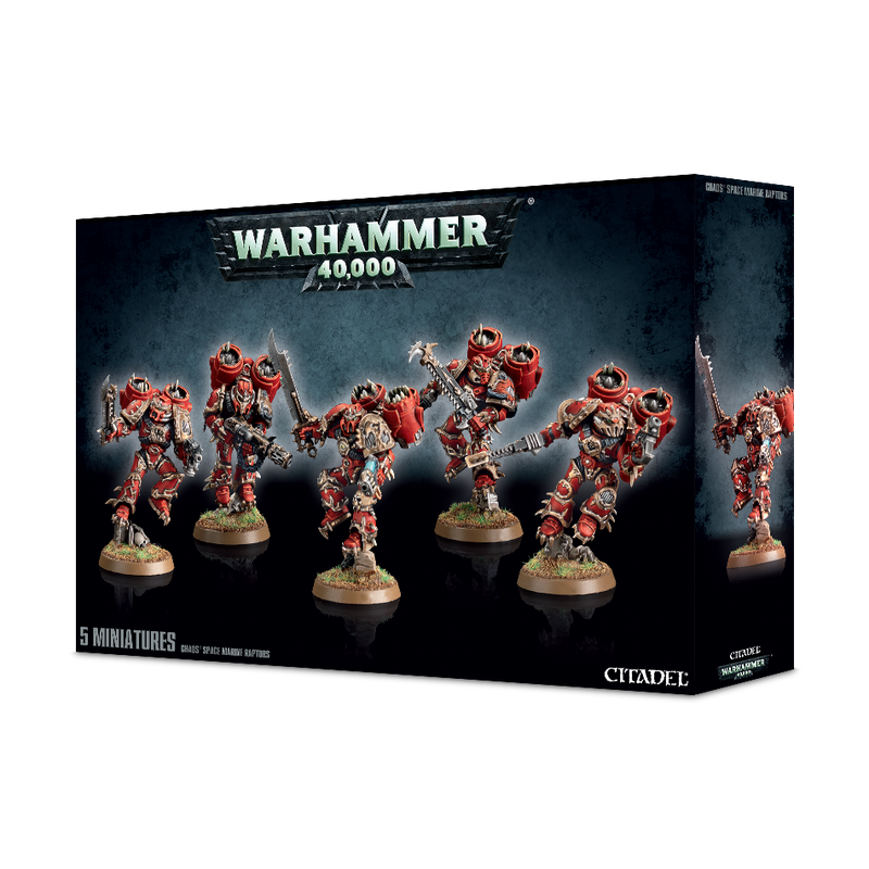 Chaos Space Marine Raptors (2018)
