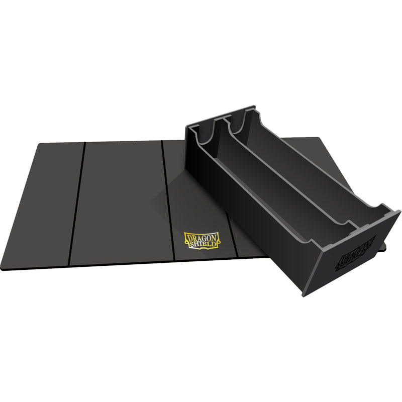 Magic Carpet XL Deckbox/Playmat Black/Black