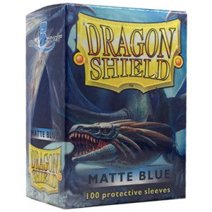 Dragon Shield Sleeves Matte Blue (100)