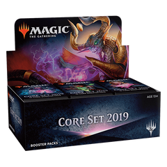 MTG Core Set 2019 Booster Display