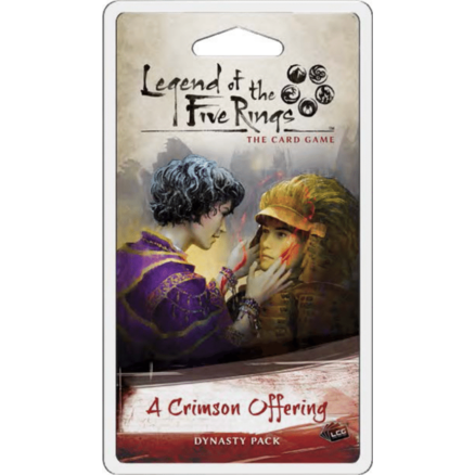A Crimson Offering Dynasty Pack: L5R LCG