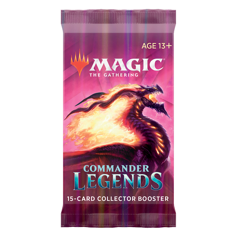 Magic the Gathering Commander Legends Collector Booster