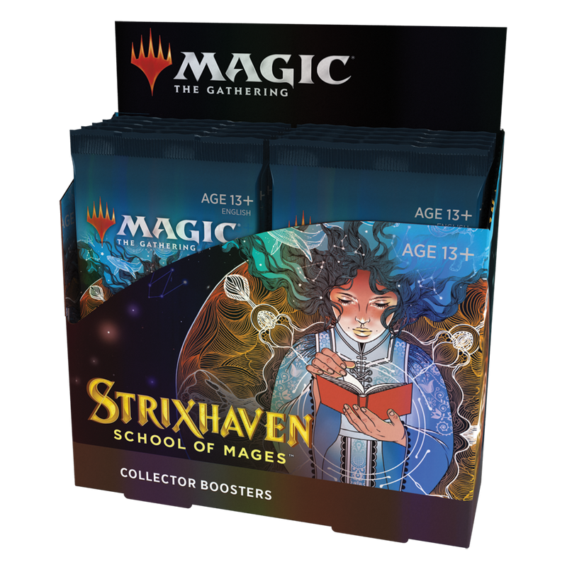 MTG: Strixhaven School of Mages Collector Booster Display