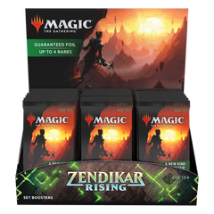 Zendikar Rising Set Booster Display