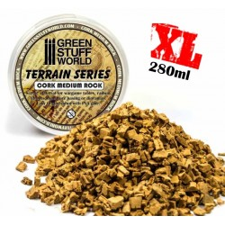 Medium Rock Basing Grit - 280 ml - XL