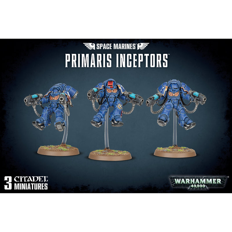 Space Marine Primaris Inceptors